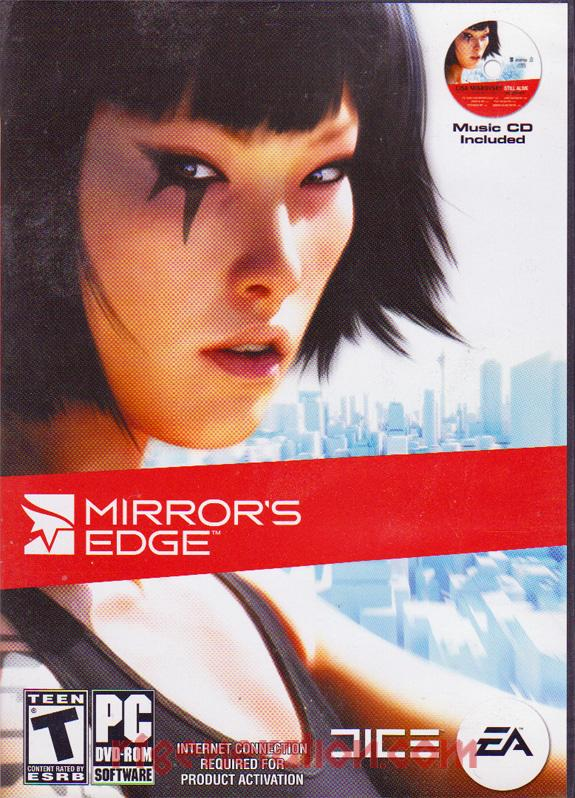 Mirror's Edge Box Front