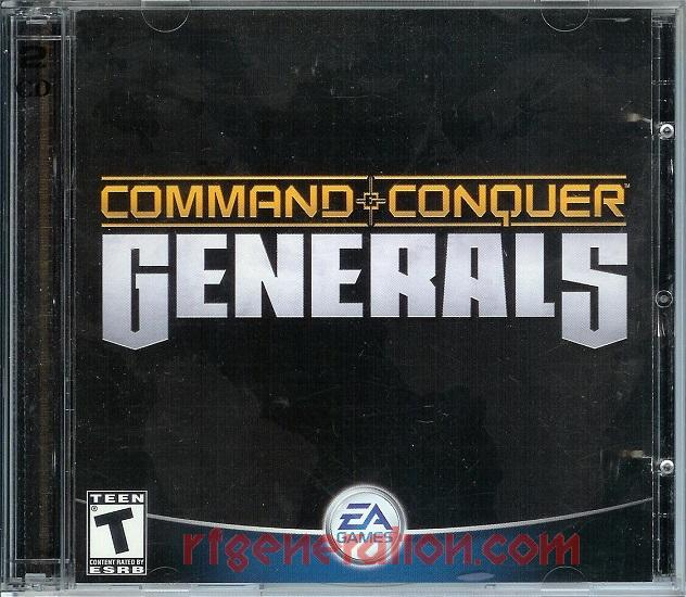 Command & Conquer: Generals <sup>[Chinese Cover]</sup> In-Game Screen
