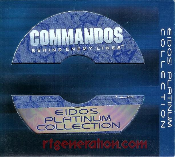 Commandos:  Behind Enemy Lines <sup>[Eidos Platinum Collection]</sup> In-Game Screen
