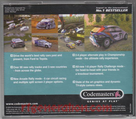 Colin McRae Rally 2.0 In-Game Screen