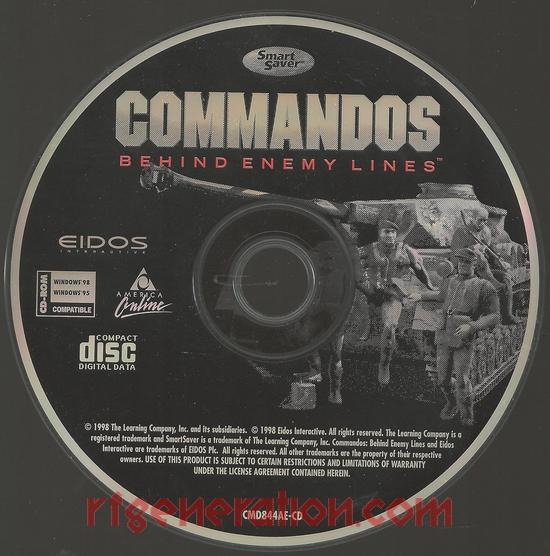 Commandos:  Behind Enemy Lines <sup>[Jewel Case]</sup> Game Scan