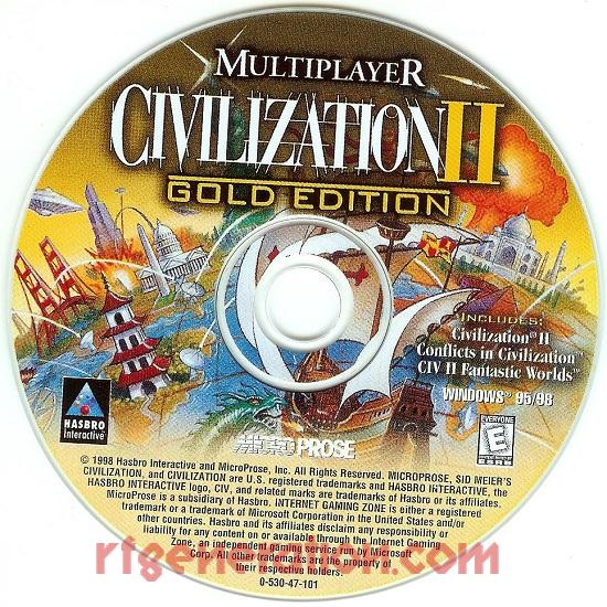 Civilization II: Multiplayer <sup>[Gold Edition]</sup> Game Scan