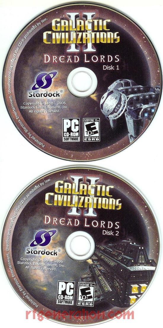 Galactic Civilizations II: Dread Lords Game Scan