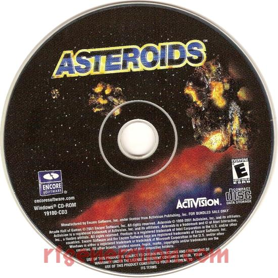 Asteroids Game Scan