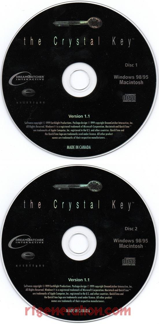 Crystal Key, The <sup>[Small Box]</sup> Game Scan