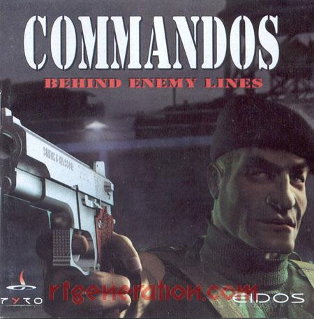 Commandos:  Behind Enemy Lines Manual Scan