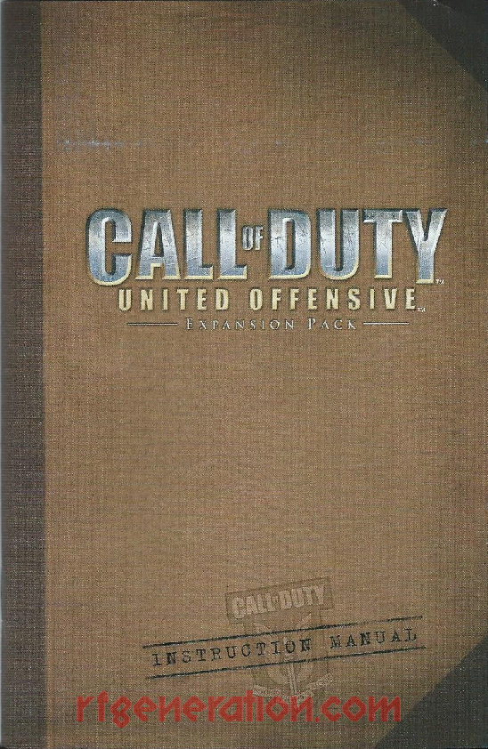 Call of Duty: United Offensive Expansion Pack Manual Scan
