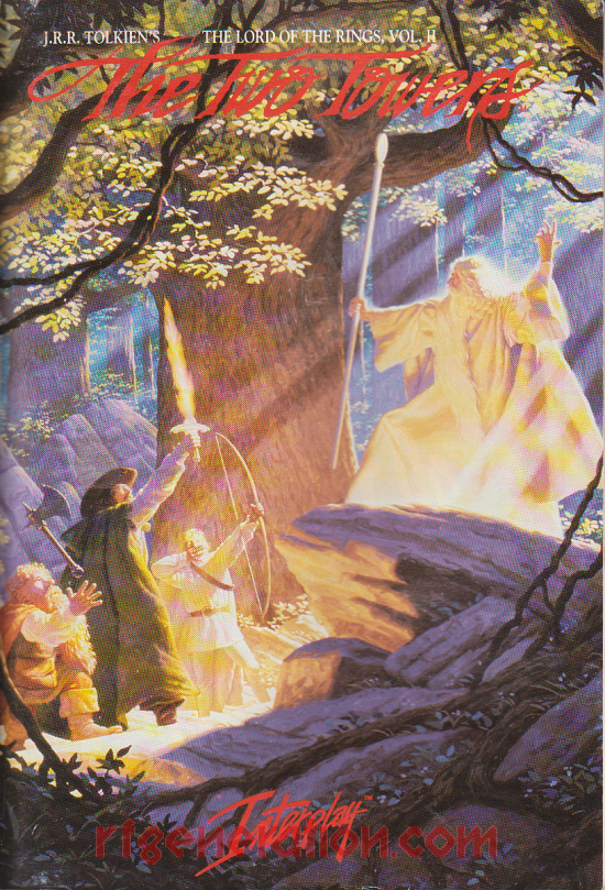 Lord of the Rings Vol. II, The: The Two Towers Manual Scan