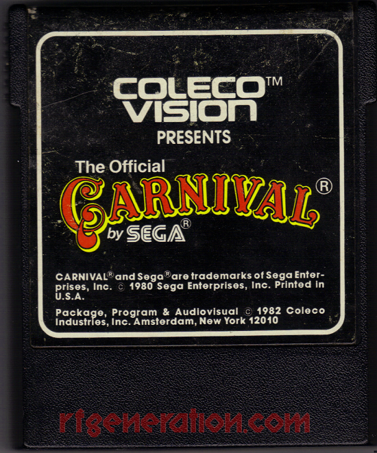 Carnival Game Scan