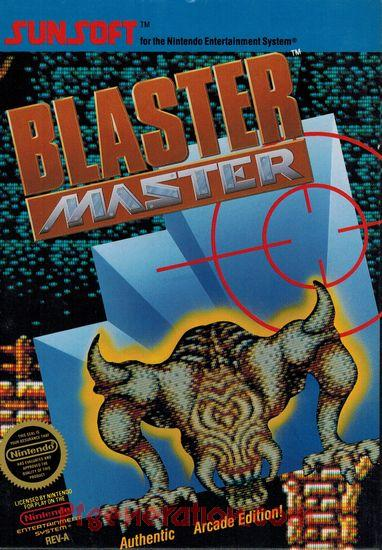Blaster Master <sup>[Round Seal]</sup> Box Front