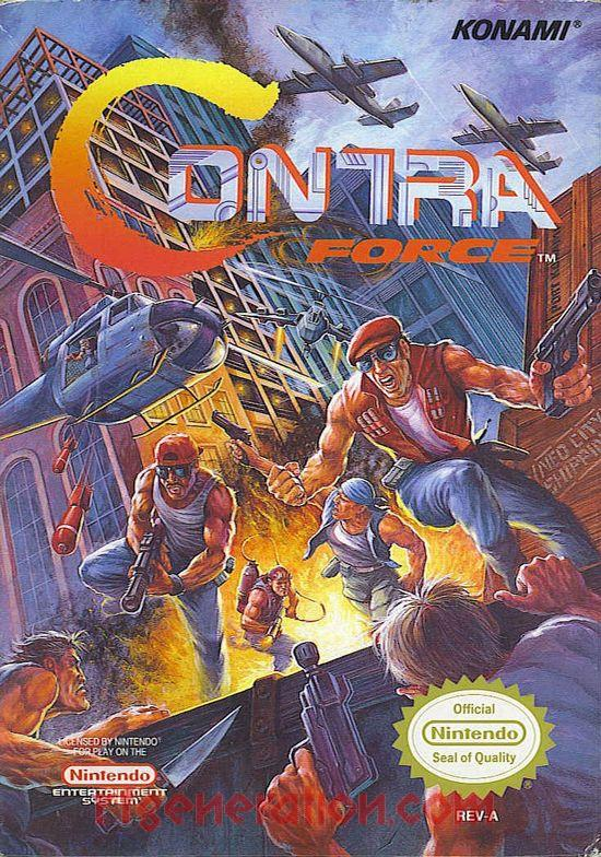 Contra Force Box Front