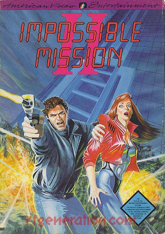 Impossible Mission II Box Front