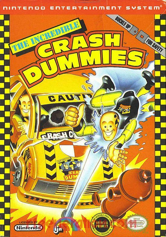 Incredible Crash Dummies, The Box Front