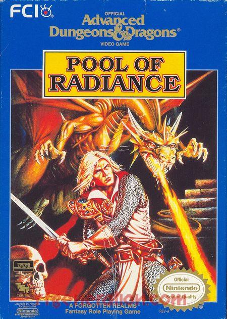 Advanced Dungeons & Dragons: Pool of Radiance Box Front