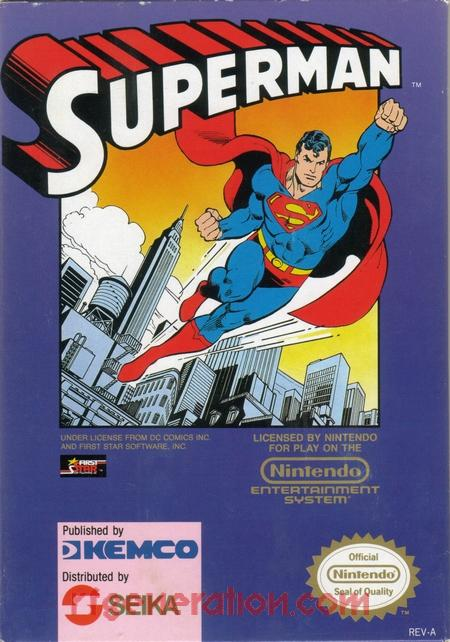 Superman <sup>[Round Seal]</sup> Box Front