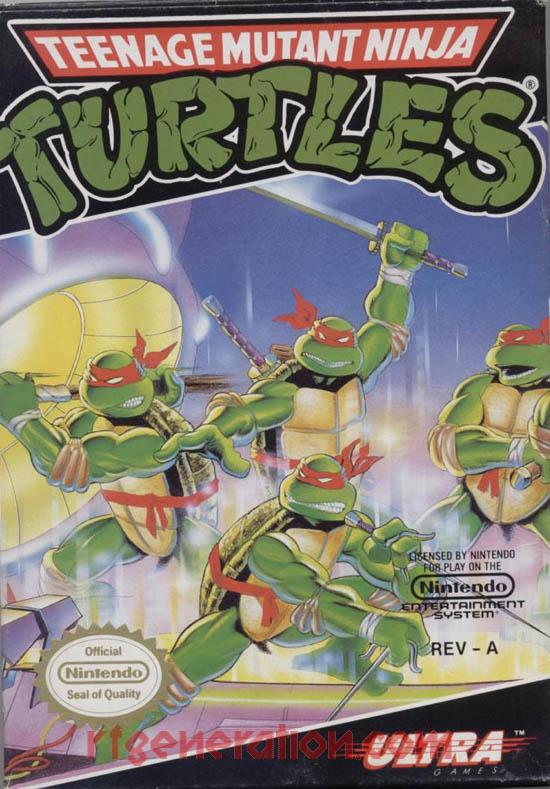 Teenage Mutant Ninja Turtles Box Front