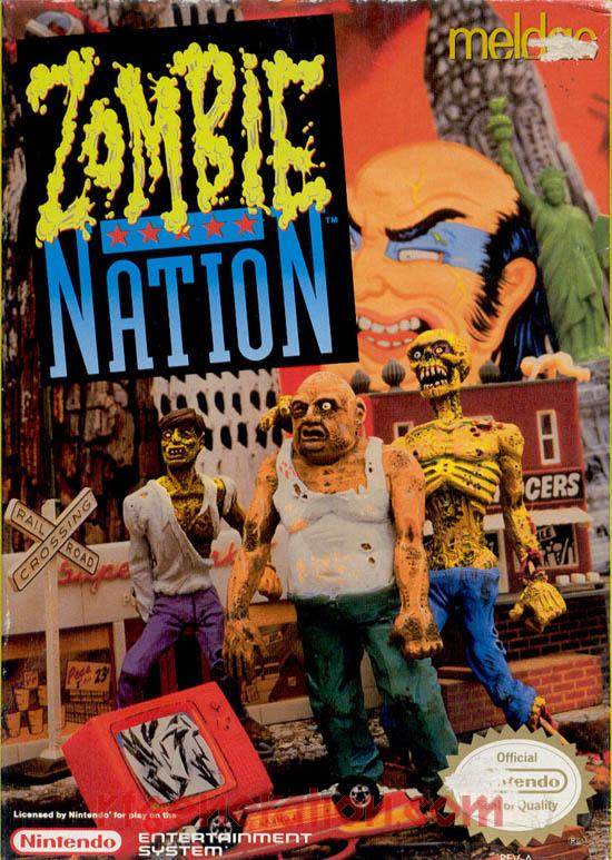 Zombie Nation Box Front
