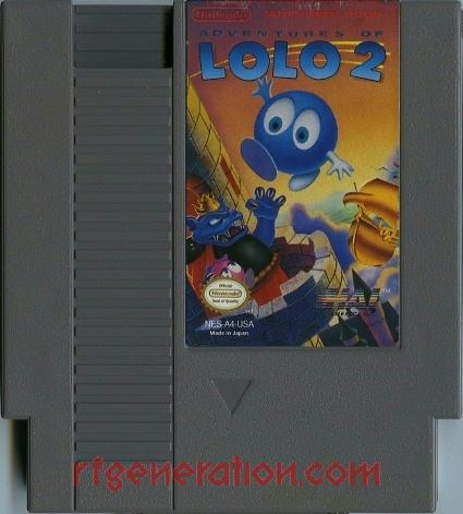 Adventures of Lolo 2 Game Scan