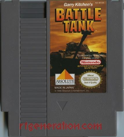 Battletank, Garry Kitchen's Game Scan