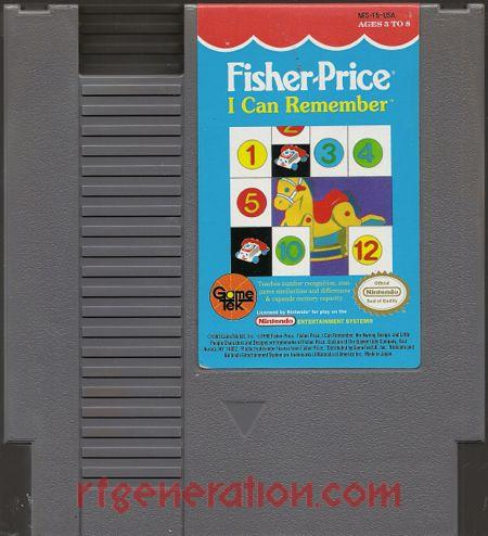 Fisher-Price: I Can Remember Game Scan