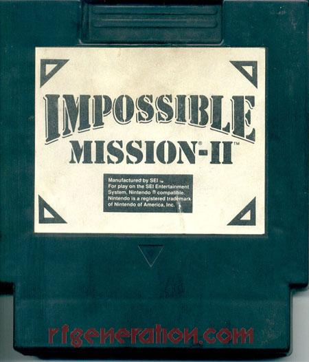 Impossible Mission II Game Scan
