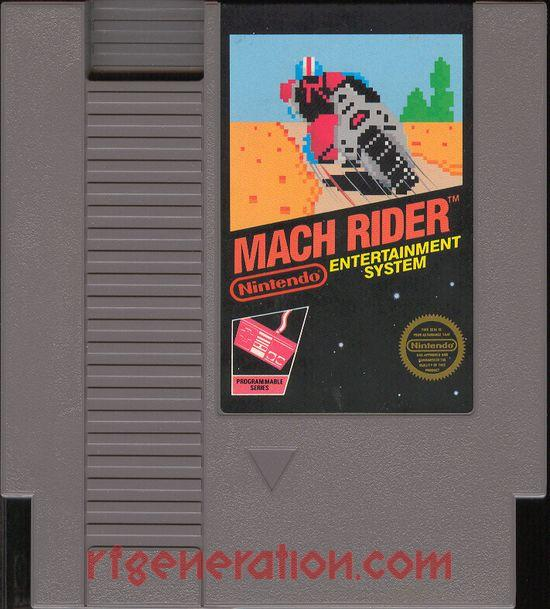 Mach Rider <sup>[5 Screw]</sup> Game Scan