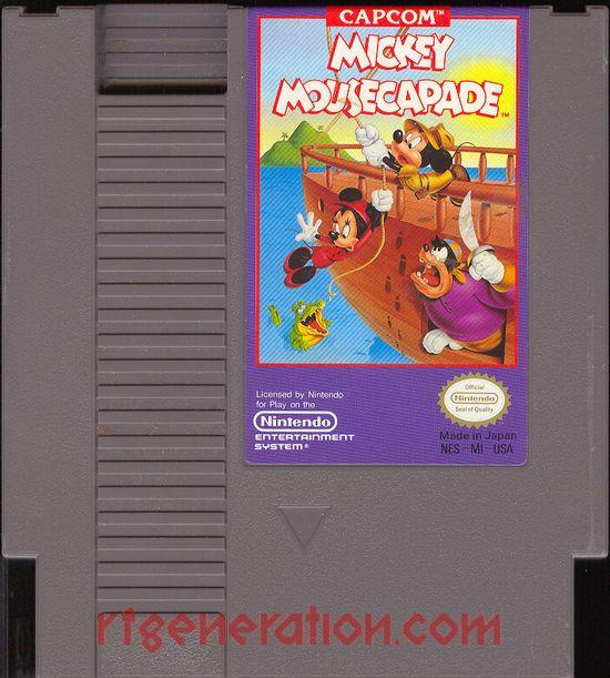 Mickey Mousecapade <sup>[Oval Seal]</sup> Game Scan