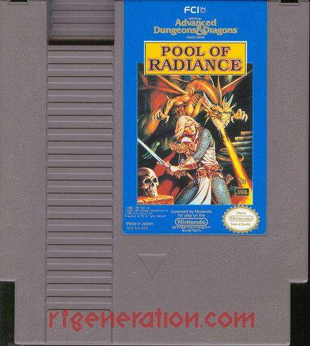 Advanced Dungeons & Dragons: Pool of Radiance Game Scan