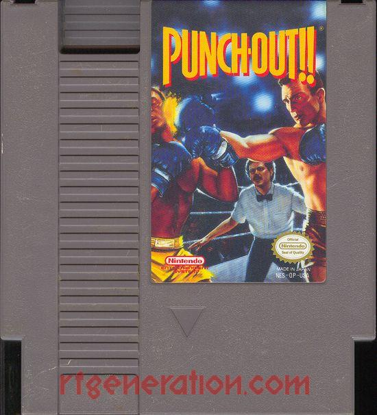 Punch-Out!! Game Scan