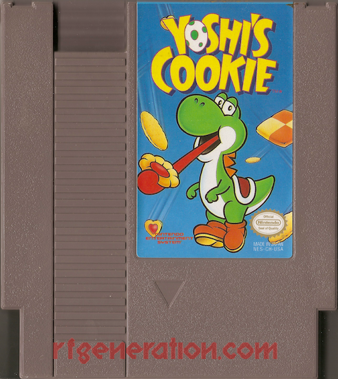 Yoshi's Cookie Game Scan