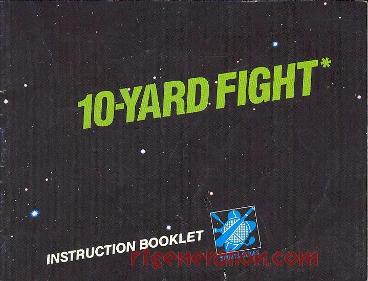 10-Yard Fight <sup>[5 Screw - System Trademark]</sup> Manual Scan