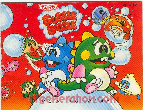 Bubble Bobble <sup>[Round Seal]</sup> Manual Scan