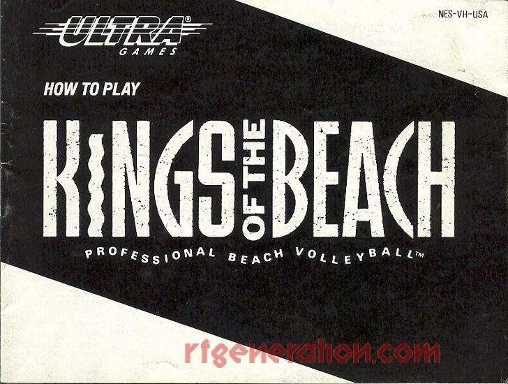 Kings of the Beach Manual Scan