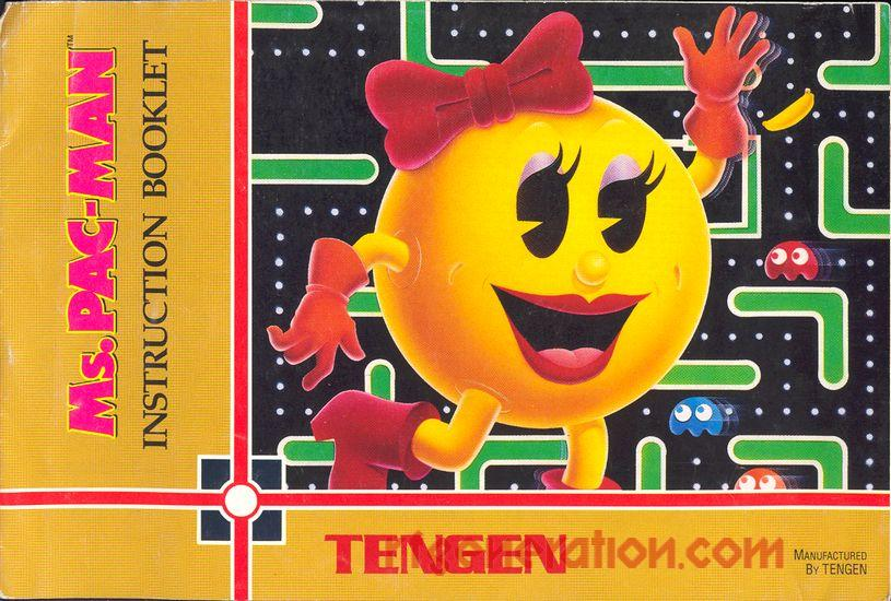 Ms. Pac-Man <sup></sup> Manual Scan