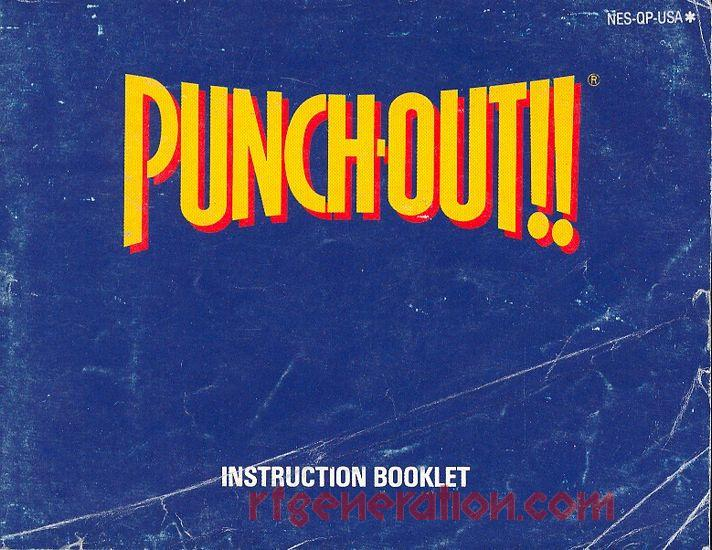 Punch-Out!! Manual Scan