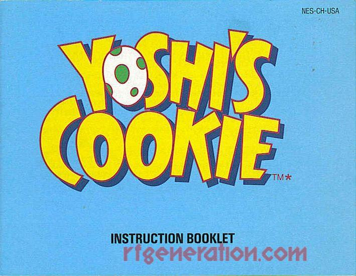Yoshi's Cookie Manual Scan