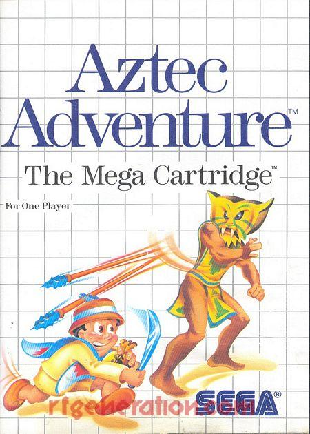 Aztec Adventure Box Front