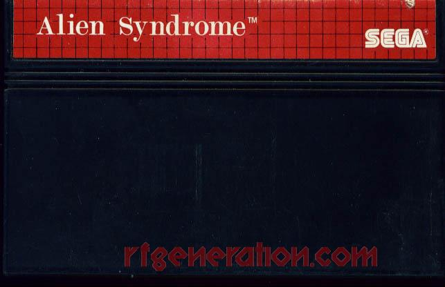 Alien Syndrome Game Scan