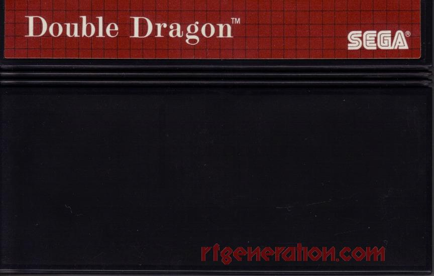 Double Dragon Game Scan