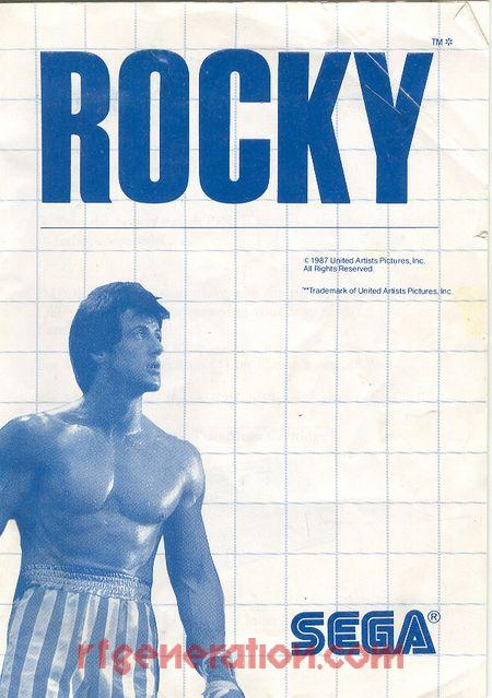 Rocky Manual Scan