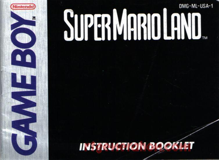 Super Mario Land In-Game Screen