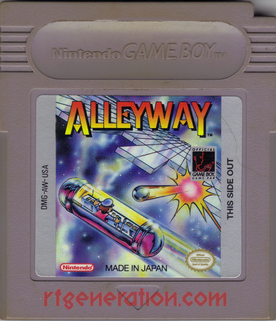 Alleyway Game Scan