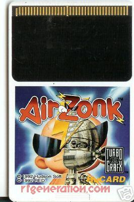 Air Zonk Game Scan