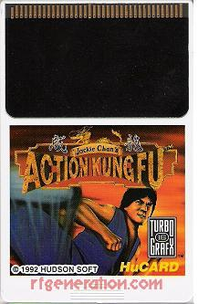 Jackie Chan's Action Kung Fu Game Scan