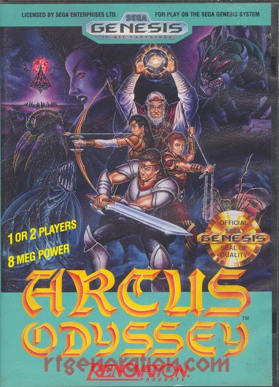 Arcus Odyssey Box Front