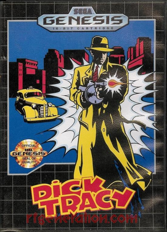 Dick Tracy Box Front