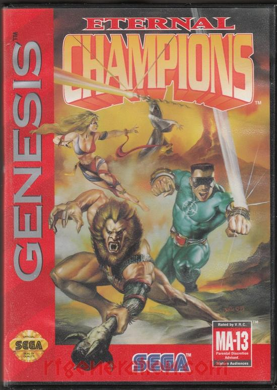 Eternal Champions Box Front