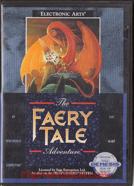 Faery Tale Adventure, The Box Front