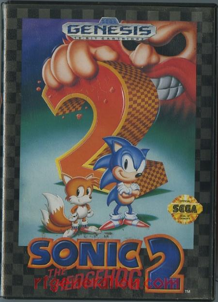 Sonic the Hedgehog 2 Box Front