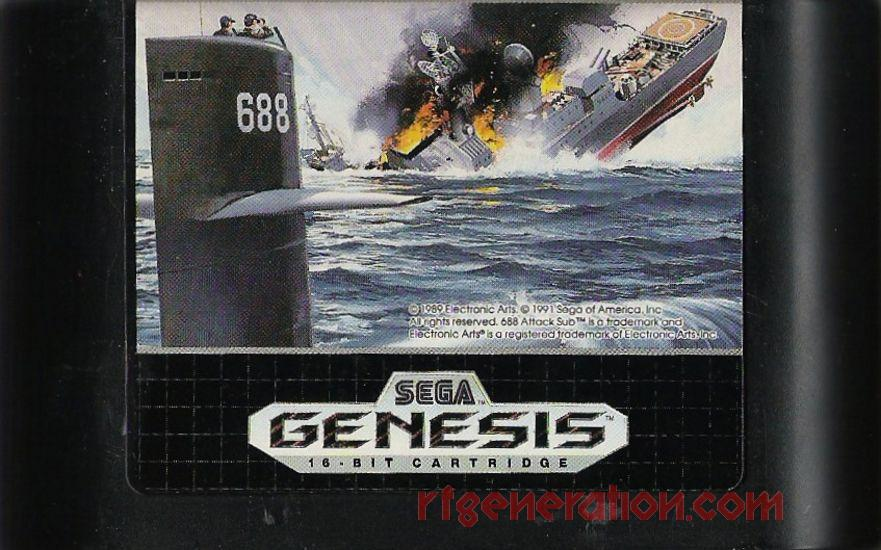 688 Attack Sub Game Scan